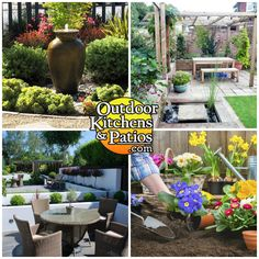 Outdoor Kitchens and Patios (OKP) in Ottawa offer beautiful garden ideas & tree #planting services that transform your #homeoutdoor looks.