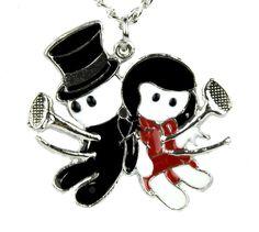 Until Death Voodoo Dead Doll Necklace Pendant Gothic Deathrock