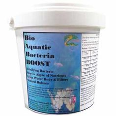 Bacteria Boost is a biological pond bacteria treatment to boost the natural bacteria levels in your pond or lake to re-balance the water preventing growth of algae due to excessive nutrient levels.