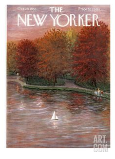 The New Yorker Cover - October 20, 1956 Premium Giclee Print by Edna Eicke at Art.com