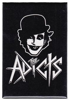 THE ADICTS LOGO MAGNET Show your English punk pride! Great for any fridge or locker this fun magnet features Monkey! The Adicts logo on a rectangular strong magnet. $4.0 #housewares #adicts #magnet