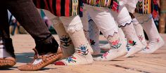 Bulgarian #socks - traditional folk costume