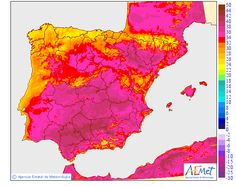 UK weather and European heatwave brought on by the Sahara bubble, in pictures Bubble Pictures, Uk Weather, Ebro, Iberian Peninsula, Spain And Portugal, How To Find Out, Bring It On, Maps, The Little Prince