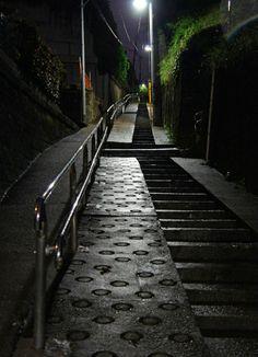 夜散歩のススメ「鼠坂」東京都文京区