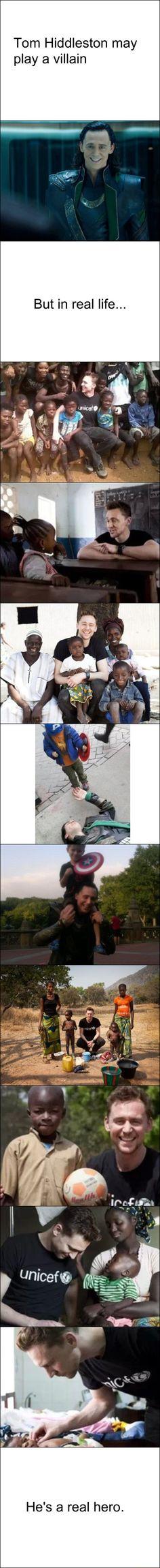 Real life hero