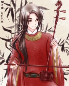 APH-China:Dragon Er-Hu by ericajc.deviantart.com on @deviantART - The er-hu (二胡) is a traditional Chinese string instrument that has a very distinctive, plaintive sound: http://www.youtube.com/watch?v=lWoj_Xt8k0A