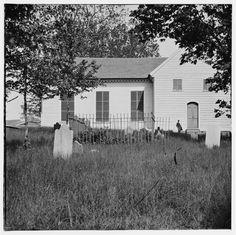 St. John's Church from Graveyard - Richmond, VA, 1865