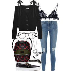 Untitled #4804 by sheryl798 on Polyvore featuring polyvore, fashion, style, Adeam, Frame, Isabel Marant, Vans, Elsa Peretti, Ray-Ban and Bobbi Brown Cosmetics