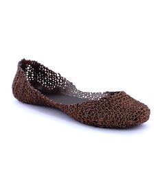 Look at this #zulilyfind! MAKERS SHOES Bronze Love Flat by MAKERS SHOES #zulilyfinds