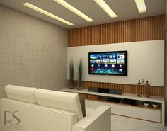 Home Decorating On A Budget Code: 4094570122 Tv Lounge Design, Tv Wall Design, Tv Cabinet Design, Sofa Design, House Design, Interior Design, Tv Unit Decor, Tv Wall Decor, Salas Home Theater