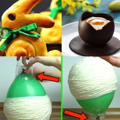 The best Easter ideas! Here you will find all our DIY and craft ideas around . - Sar Ah Die besten Oster - Ideen! The best Easter ideas! Here you will find all our DIY and craft ideas for Easter. Pot Mason Diy, Mason Jar Crafts, Diy Hanging Shelves, Floating Shelves Diy, Diy Home Decor Projects, Diy Projects To Try, Diy Y Manualidades, Painted Mason Jars, Wine Bottle Crafts