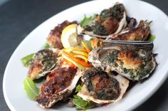 Oysters! Your choice of our Florentine, Casino or both