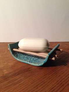 ❤️ Butter Dish, Soap, Dishes, Handmade, Hand Made, Tablewares, Bar Soap, Soaps, Dish