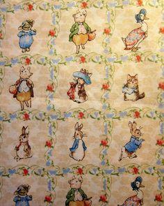 Beatrix Potter Fabric