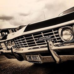 Check out 'Supernatural Car Restoration' on face book, this guy is totally rebuilding a 67 Impala to be identical to Baby. Rad.