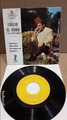 EMILIO EL MORO Y SU GUITARRA. ESPERANZA. EP / MONTILLA - 1962 / MBC. ***/***
