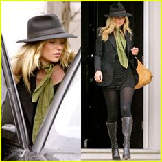 Kate Moss/ Classy outfit for fall