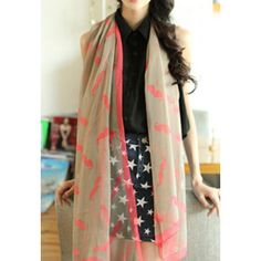 Lovely Cute Funny Mustache Infinity Scarf for only $15.99 ,cheap Fashion Scarves - Clothing & Apparel online shopping,Lovely Cute Funny Mustache Infinity Scarf