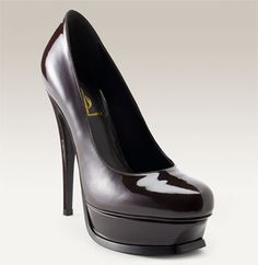 my most favourite pump in the WORLD. Yves Saint Laurent. Tribute Pump.