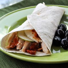 Italian Roasted Chicken Wrap | Recipes | Spoonful