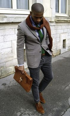 Dapper... Man purse and all
