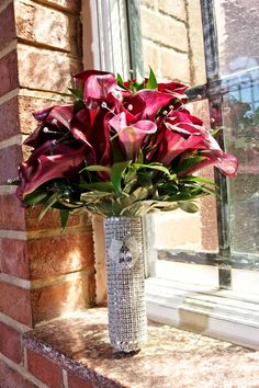 Crystal Bouquet Holder <3