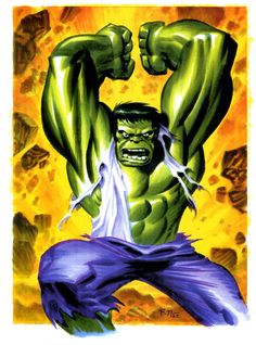 The Hulk by Bruce Timm #Marvel #comic #hulk . Pin and follow pyra2elcapo