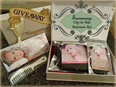 WIN Tressmerize Clip-In Hair Extensions Kit $295.99ARV #Tressmerize #giveaway #EBTheory