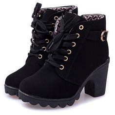 new 2014  brand  platform high heel single shoes vintage Women Motorcycle Boots Martin Boots,size 35-39,free shipping XWX367
