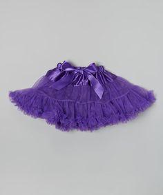 Look at this #zulilyfind! Purple Ruffle Tutu - Infant, Toddler & Girls #zulilyfinds