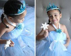 Queen Elsa Tutu Dress-Disney's Frozen Inspired by FancifulFluff