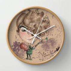 Matita's Art Wall Clock