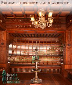 Indian Interiors, Hindu Art, Art And Architecture, Folklore, Kerala, Balcony, Museum, House Design, Home Decor