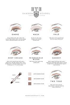 Eyeshadow Tutorials | Maskcara