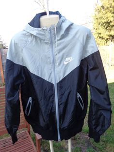 Vintage early 80's nike black & gray windrunner by Simplemiles, $56.00