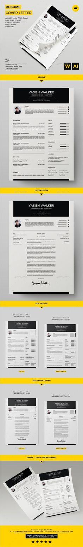Bewerbung Balera · Design · Vorlage · Auffällig · Kostenloser