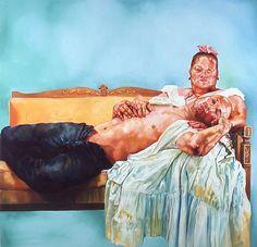 puerto rican peita  2006  Oil on canvas.  david antonio cruz