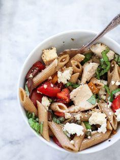 Greek Pasta Salad | foodiecrush