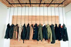 cloth rack / Boutiques The Next Door, Avignon