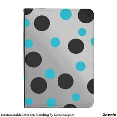 Customizable Dots On Blending Kindle 4 Cover