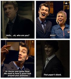 Tee-hee. That would have been sooooooooo awesome to stick Ten and Sherlock together. Don't think they would have gotten along. Which would have made it even more awesome.