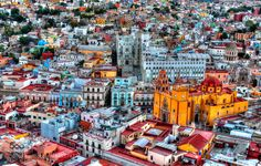 A city with lots of color - Pinned by Mak Khalaf City and Architecture architecturebuildingscallescitycityscapeciudadcolorcolorfulguanajuatojuan vallemexiconikonpanoramicastreeturban by Fillin