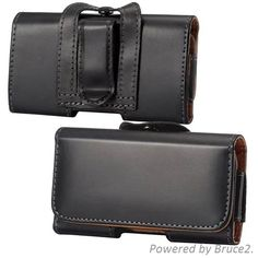 For Celkon Campus Colt A401 Belt Clip Loop Hip Holster Leather Flip Pouch Case Cover Belt Leather Case