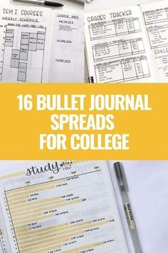 15 COLLEGE BULLET JOURNAL SPREADS AND TRACKERS WILL HELP YOU GET ORGANIZED AND CRUSH IT IN YOUR CLASSES! TAKE SOME STRESS OFF THIS YEAR AND ADD THESE SPREADS TO YOUR BULLET JOURNAL. Click to read more. Bullet Journal Student, January Bullet Journal, Bullet Journal Monthly Spread, Bullet Journal Hacks, Bullet Journal How To Start A, Bullet Journal Themes, Bullet Journal Layout, Bullet Journal Inspiration, Journal Ideas