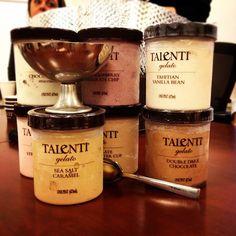 "Talenti Gelato -- So far my favorite is ""Coffee Chocolate Chip"""
