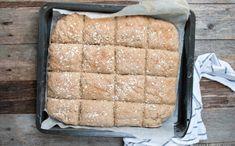 Langpannebrød med rug og havre - Kvardagsmat