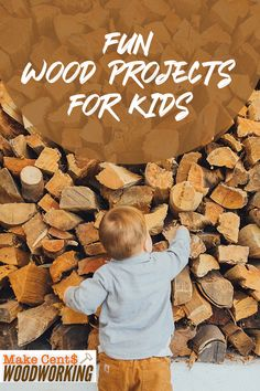 Expose your kid to the joys and possibilities of woodworking by introducing him to these fun wood projects for children. Wood Projects That Sell, Woodworking Projects That Sell, Diy Wood Projects, Woodworking Ideas, Wood Crafts, Diy And Crafts, Dog Food Recipes, Crafty, Children