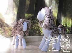 DIY Fabric Horse free pattern