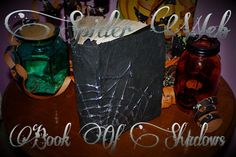 The Spider Web Book Of Shadows