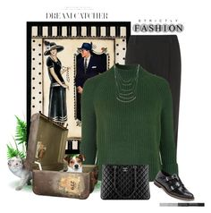"""""""Strictly Fashion"""" by jessicarabbit59 ❤ liked on Polyvore featuring Retrò, Alice + Olivia, Topshop, Chanel, Miista, women's clothing, women's fashion, women, female and woman"""